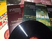 коллекция грампластинок мировых исполнителей классической музыки