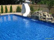 Химреагенты для очиски бассейнов,  прудов, оборудование,  строительство.