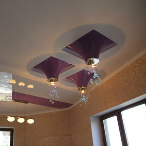 французкие натяжные потолки