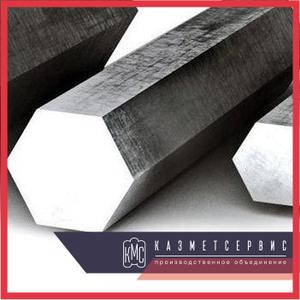 Дюралюминиевый шестигранник